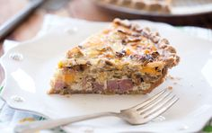 Filled with sautéed cabbage and onions, and dotted with Irish cheddar and salty ham, this quiche pays homage to one of our favorite spring celebrations. Tasty for brunch or an easy dinner, it's a great use for leftover spiral-sliced ham.