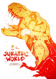Jurassic World - movie poster - Harijs Grundmanis