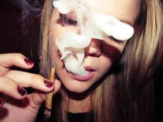 Girl#... #smoke...i love you