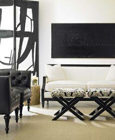 Bernhardt - Black & white chic