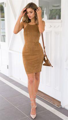 Backless dress sexy condole dress