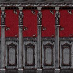 Venta de Fondos pared mansión gótica (2)