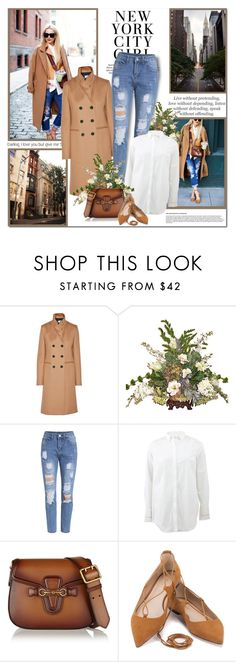 """""""Happiness is not a matter of intensity but of balance, order, rhythm and harmony!!"""" by lilly-2711 ❤ liked on Polyvore featuring Avenue, Victoria Beckham, Brunello Cucinelli and Gucci"""