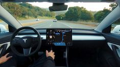 Tesla posts Full Self-Driving demo video with stop sign, traffic light recognition: Tesla has released a video… Buy A Tesla, New Tesla, Cadillac Ct6, Peugeot, Audi A8, Tesla Video, Tesla News, Touring, Tesla Owner