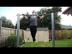 How to Make an Outdoor Pull-up Bar and Parallel Bars - DIY Fitness Equipment - Fitstream