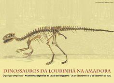 Dinossauros da Lourinhã de passagem pela Amadora