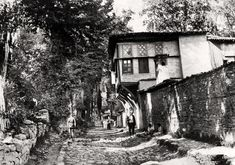 İstanbul - Eyüp Ottoman Empire, Historical Pictures, Sufi, Istanbul, Old Photos, Black And White, History, House Styles, World