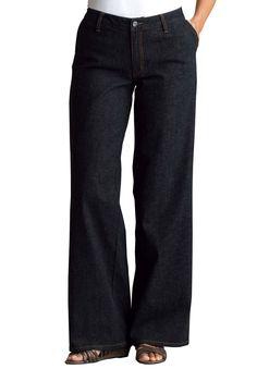 Plus Size Jean, stretch, wide leg
