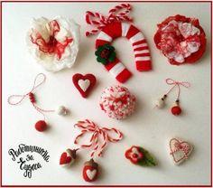 Честита Баба Марта! Diy Christmas Gifts, Christmas Ornaments, Holiday Decor, Valentine Crafts, Valentines, Baba Marta, Seasons In The Sun, Diy And Crafts, Crafts For Kids