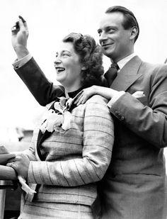 Prince Louis Ferdinand of Prussia and his wife Kira Kirillovna of Russia, New York, USA, 26 May 1938.