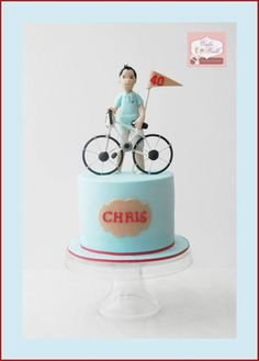 birthday cake for a cycling enthusiast