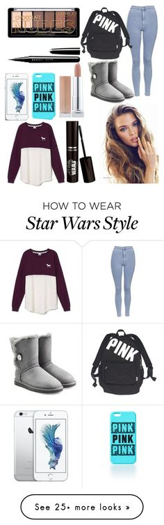 """Winter #1"" by riverdogs17 on Polyvore featuring Victoria's Secret, Topshop, UGG Australia and Marc Jacobs"