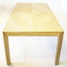 Oak table. Romb veneering.