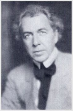 Wright at 47. Circa 1914  Portrait of Wright facing slightly to the left. This was taken about the time he was completing Midway Gardens.