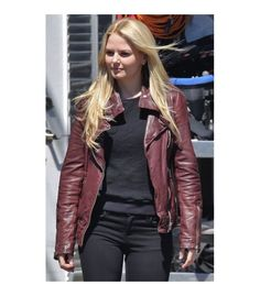 Buy Emma Brown (Jennifer Morrison) Replica Jacket in Once Upon A Time for women at celebsleatherjackets.com on discounted prices and Free Shipping on Orders Over $200.
