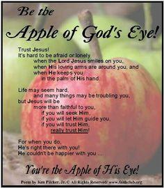 Apple of God's eye