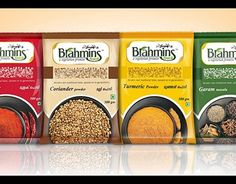 "Check out new work on my @Behance portfolio: ""Brahmins Spices Package Design""…"