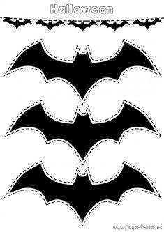 halloween výrobky - Batman Printables - Ideas of Batman Printables - Resultado de imagen de halloween výrobky Moldes Halloween, Halloween Templates, Adornos Halloween, Halloween 2018, Easy Halloween, Holidays Halloween, Halloween Crafts, Batman Party Decorations, Diy Halloween Decorations