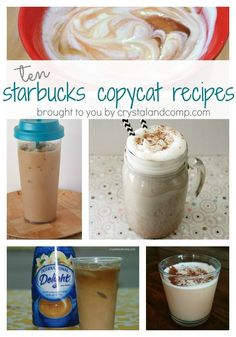10 Starbucks Copycat Recipes