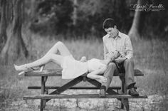Black and White Engagement Session - CHRISTY & STERLING – LAKE LOUISA STATE PARK –  Orlando Wedding Photographer clairepacelli.com