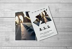 Free Download A3-A4-A5 Flyer / Poster Mockups #free #download #mokups #psd