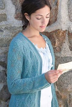 Ravelry: Sabbatical pattern by Connie Chang Chinchio Sweater Knitting Patterns, Crochet Cardigan, Lace Knitting, Knit Patterns, Knit Crochet, Yarn Stash, Knitting Projects, Free Pattern, Sweaters For Women