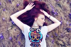 Owl t-shirt by Hearabouts, via Flickr
