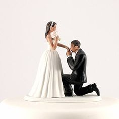 """Cinderella Moment"" Wedding Cake Topper"