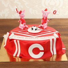 Мужской торт не обязательно должен быть строгим и лаконичным. Выберите яркий, несерьезный, игривый и молодежный торт для вашего мужчины и он обязательно вызовет улыбку на лице С радостью изготовим торт для вашего праздника от 2-х кг всего 2150₽/к Изготовление #ФигуркиНаТорт первой свинки входит в стоимость торта. Каждая последующая #ФигуркаИзМастики свинки 1000 руб. Расскажите нам о Вашей идее, задумке или тематике праздника по телефону/WhatsApp/Viber +7(495)565-3838, или выберите подходящую…