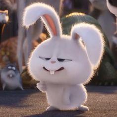 Cute Bunny Cartoon, Cute Cartoon Pictures, Cartoon Profile Pics, Cartoon Wallpaper Iphone, Cute Disney Wallpaper, Cute Cartoon Wallpapers, Rabbit Wallpaper, Bear Wallpaper, Snowball Rabbit