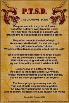 PTSD...The Dragon's Song