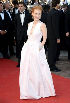 Jessica Chastain at Cannes Opening Ceremony