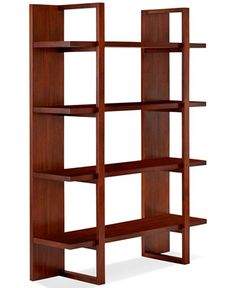 Battery Park Home Office Open Bookcase