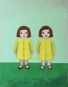 Available for sale from Geary Contemporary, Ayse Wilson, Scouts in Raincoats (2016), Oil on panel, 24 × 18 in
