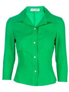 DOLCE & GABBANA VINTAGE - silk blouse by cheryl