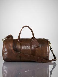 Deerfield Small Duffle - Ralph Lauren Bags & Business - RalphLauren.com