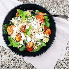 Tuna, Quinoa & Basil Salad