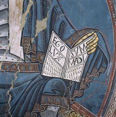Apse of Sant Climent de Taüll Early Christian, Christian Art, Tempera, Fresco, Romanesque Art, Avant Garde Artists, Orthodox Icons, Medieval Art, Mural Painting