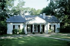 The Little White House, Warm Springs GA.  FDR's home in Warm Springs where he collapsed while having portrait painted