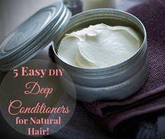 DIY hair,  Natural Hair products, deep conditioner, natural hair, home grown