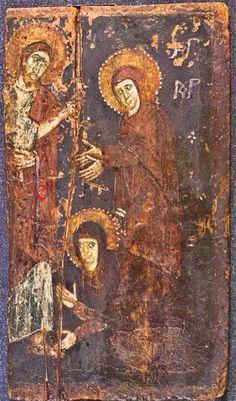 St Maria Magdalene icon, St Catherine's Monastery. Mount Sinai (Egypt).