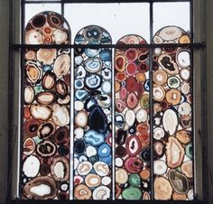 Gerhard Richter and Sigmar Polke, two German artists who have created stained-glass windows for churches in Cologne and Zurich.  Read more http://www.newyorker.com/online/2008/05/12/slideshow_080512_stainedglass#slide=6#ixzz1Fks5ejec