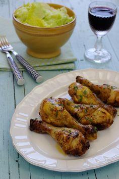 Cinco Quartos de Laranja: Perninhas de frango no forno