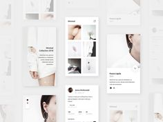 White Fashion designed by Ervin Halebic. Connect with them on Dribbble; the global community for designers and creative professionals. Best Ui Design, App Ui Design, User Interface Design, Branding Design, Web Design, Mobile Ui Design, Mobile App Ui, Ui Inspiration, White Fashion