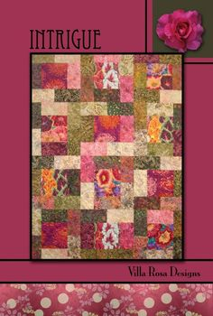 Intrigue Quilt Pattern by Villa Rosa Designs