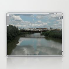 Toledo Spain River View Laptop & iPad Skin by Rosie Brown - $25.00  #Ipad # Cases #Toledo #Spain #river #society6