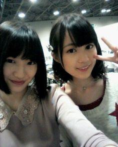 乃木坂46 (nogizaka46) nakada kana and ikuta erika ~ this two are so so so cutie and prettyyyyy ^o^ ♥ ♥ ♥ ♥ ♥