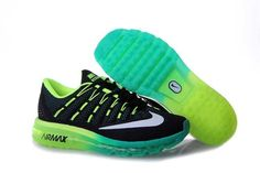 free shipping 828b5 38399 1830  Nike Air Max 2016 Herr Svart Blå Grön