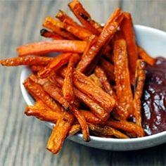 Baked Carrot Fries!