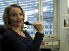 Sonja Hasler im Verkehrshaus - Arena vor Ort (2013)